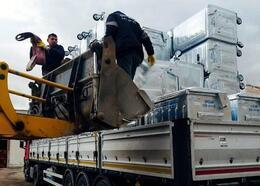 Bergama'ya 300 çöp konteyneri