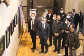 Niğde'de uluslararası resim sergisi açıldı