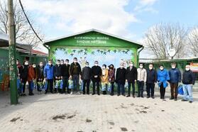 Mustafakemalpaşa Belediye Başkanı Kanar, lise öğrencileri ile buluştu