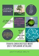 Trakya Üniversitesi'nde 1 ayda 38 ton atık geri dönüşüme kazandırıldı