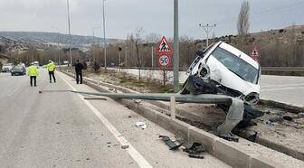 Burdur'da kaza: 3 yaralı
