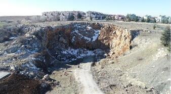 Ankara'da Tulumtaş Mağarası turizme kazandırılıyor