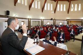 İnegöl'de Nisan ayı meclis toplantısı gerçekleştirildi