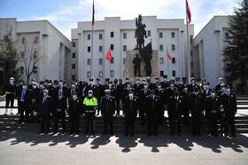 Nevşehir'de polisten Kızılay'a kan bağışı
