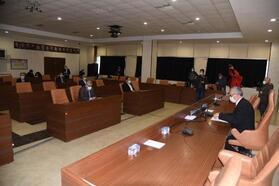 Keşan'da belediye meclisi toplantısına koronavirüs engeli