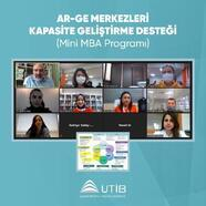 UTİB'de firmalara iş modeli üretme eğitimi verildi
