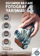 'Eğitimden Bir Kare Fotoğraf Yarışması'nın 4'üncüsü başladı
