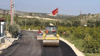 Büyükşehir'in Elvanlı'da yaptığı yol, turizmi de canlandıracak