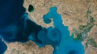 Son dakika: Van Gölü'ne oy yağmuru: NASA'nın sitesi çöktü