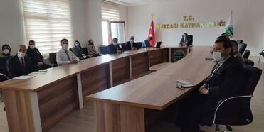 Nurdağı'nda 'kadına yönelik şiddetle mücadele' toplantısı
