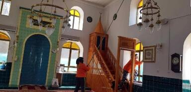 Süleymanpaşa Belediyesi'nden camilerde temizlik atağı