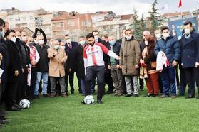 Nurtepe Stadı FİFA Standartlarında yenilendi