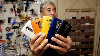 LG vazgeçti 'LG manyağı' 90 telefonundan vazgeçmiyor