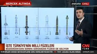Türkiye'nin milli füzeleri göz açtırmıyor: İşte o füzeler