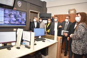 Balçova'nın MOBESE sistemi ilçe genelinde güvenliği sağlıyor
