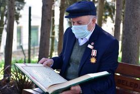 """69 yaşındaki Kıbrıs Gazisi İsmail Uktan, """"Savaş olsa yine giderim"""""""