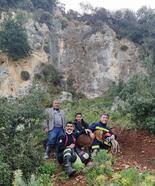 Kayalıkta mahsur kalan oğlak, itfaiye ekiplerince kurtarıldı