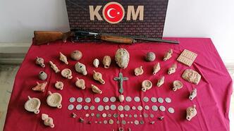 Selçuk'ta tarihi eser operasyonuna 2 gözaltı