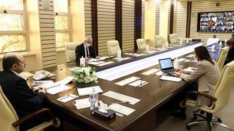 YÖK Başkanı Saraç, üniversite rektörleriyle toplantı yaptı