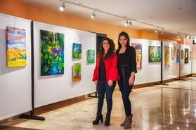Narven Sanat Sokağı'nda 'Rengin Derinliği' sergisi açıldı
