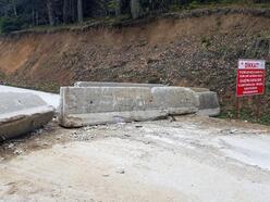 Yedigöller yolu, iklim koşulları nedeniyle aylardır trafiğe kapalı