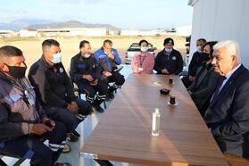 Başkan Gürün işçilerle yatırım ve projeleri konuştu