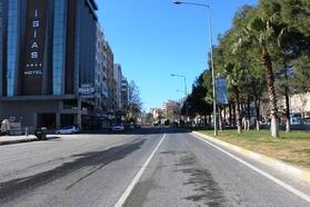 Adıyaman'da kısıtlamada sokaklar boş kaldı