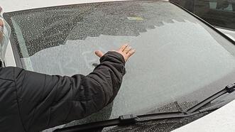 Edremit Körfezi'ne çamur yağdı! Sürücüler şaşkınlık yaşadı