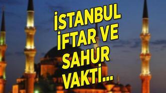 İstanbul iftar saati 19 Nisan ve sahur vakti! 2021 İstanbul imsakiyesi, oruç saat kaçta açılacak?