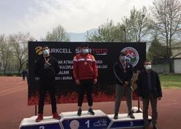 Nurullah İvak Atmalar Şampiyonası'nda Osmangazi Belediyespor başarısı