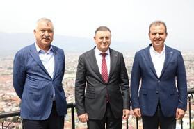 Çukurova'nın başkanları, Hatay'da buluştu