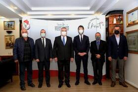Kırklareli Metropoliti Sofianopoulos'tan, Kesimoğlu'na ziyaret