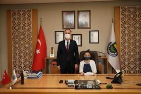 İnegöl Belediye Başkanı Taban, koltuğunu devretti