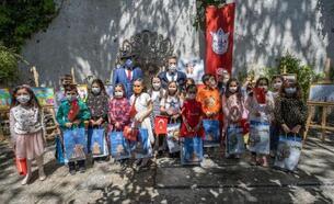 Konak'ta 23 Nisan Resim Yarışması Ödülleri minik sahipleriyle buluştu