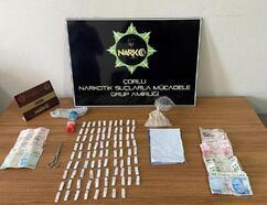 Çorlu'da uyuşturucu operasyonu: 3 gözaltı