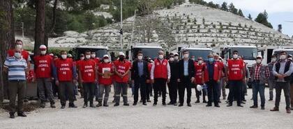 Burdur'da 1 Mayıs açıklaması