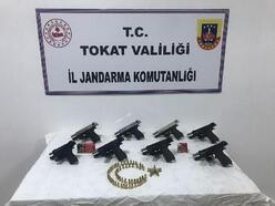 Tokat'ta silah kaçakçılığı operasyonu