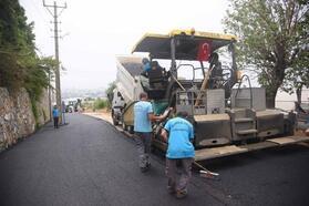 Küves ve Recepli'nin asfaltı tamamlandı