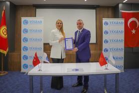 TÜGİAD Kırgızistan Temsilciliği açıldı