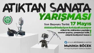 """Büyükşehir, """"Atıktan Sanata Yarışması"""" düzenliyor"""