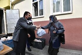İftarlıklar Osmangazi Belediye Başkanı Dündar'dan