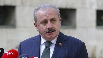 Meclis Başkanı Şentop, İSİPAB'ın İsrail'in şiddet ve zulmünü kınayan bildirisini paylaştı