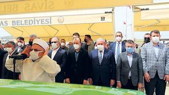 Şentop Sivas'ta cenazeye katıldı
