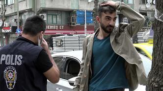 İzinsiz yola çıkan sürücü, polisten kaçtı, ceza yemekten kaçamadı