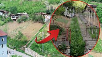 Trabzon'da komşuların inat merdiveni! Her şey 10 yıl önce başladı