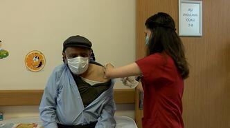 Aşı ikna ekibi devreye girdi! 65 yaş üstü aşılanma oranı yüzde 80'e çıktı