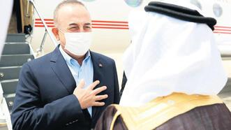 Bakan Çavuşoğlu S. Arabistan'a gitti