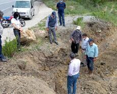 Akseki Taşlıca'daki sulama sistemindeki arızaya hızlı müdahale