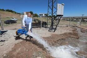 DİSKİ, Çarıklı mahallesinin su sorununu çözdü