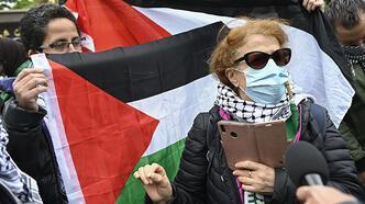 Fransa'dan Filistin'e destek gösterilerine yasak!
